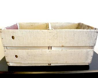 Large Vintage Wooden Crate