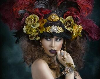 Vinatge Inspired Headdress