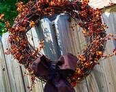 Fall Bittersweet Wreath
