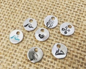 Mini Jewelry Charms (set of 10)