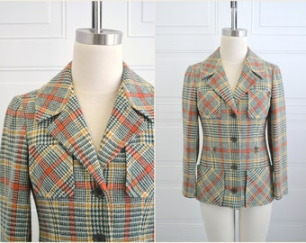 1960s Jane Justin for Don Sophisticates Wool Blend Jacket