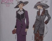 Butterick B6108 Historical Costume Pattern early 20th Century