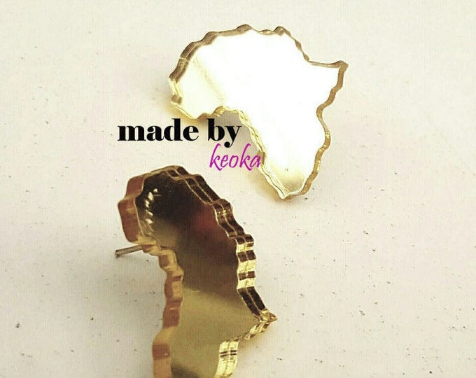 Africa Mirror Earrings