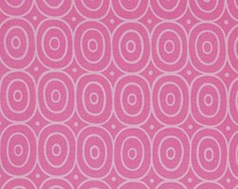 Jane Sassaman for Free Spirit - SWEET LADY JANE - Circle Dance Rose - Teal - Cotton Fabric - 1 yard