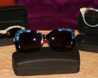 Protective Hard Case for eyewear, Sunglass Cases, Eyewear Cases, Black Eyewear Case