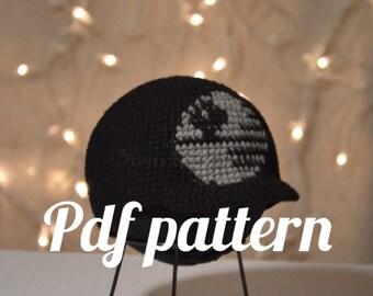 Death Star Beanie with Bill Crochet Pattern