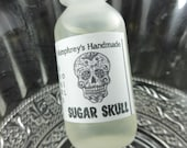 SUGAR SKULL Beard Oil, Cologne Oil, Small .5 oz Brown Sugar and Vanilla Scented Beard Conditioner, Natural Beard Oil, Apricot & Avocado Oil