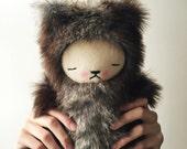 Kawaii Sugarloaf Teddy Bear Faux Fur Large