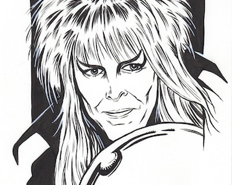 David Bowie as the Goblin King from Labyrinth