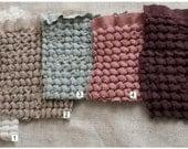 Linen-Cotton  dyed fabric --diferent color-- fine textture--home decor--perfect drape
