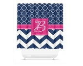 Personalized Shower Curtain, Monogram Shower Curtain, Design Your Own Shower Curtain