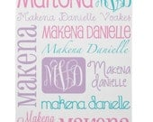 Personalized Baby Blanket Monogrammed Baby Blanket Name Blanket Swaddle Receiving Blanket Baby Shower Gift