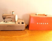 Sew Away... Vintage Singer Sew Handy Sewing Machine Small Children's Electric Sewing Machine