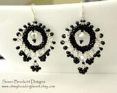 Crystal Beaded Earrings SALE