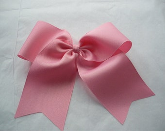 1 Extra Large Grosgrain Cheer Boutique Bows  - Your favorite choice of 11 colors