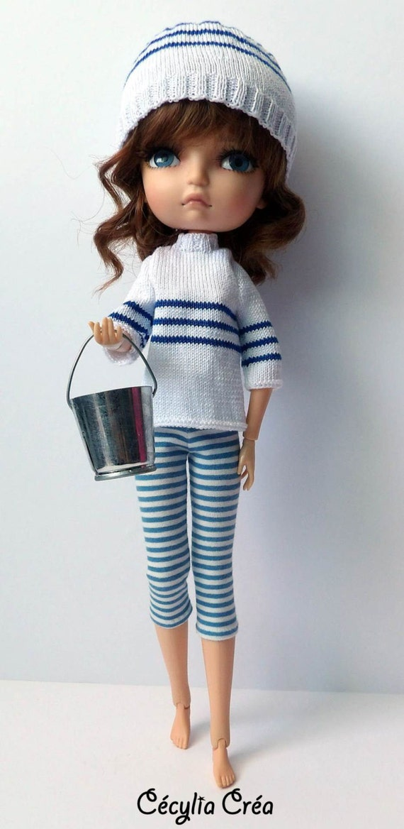 218 french and english knitting pattern pdf sweater and hat for lila doll 30 cm from. Black Bedroom Furniture Sets. Home Design Ideas