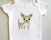 Baby clothes, Chihuahua baby bodysuit, baby boy, baby girl, baby gift