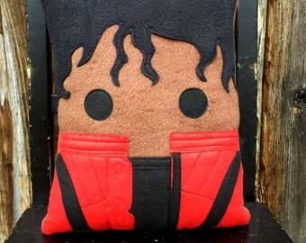 Michael Jackson Pillow, king of pop, pillow, plush, cushion, alfomada