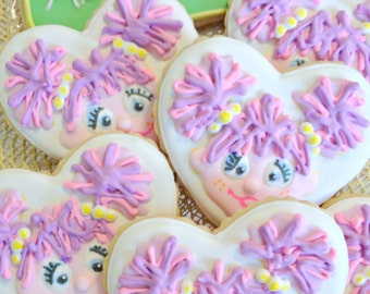Abby Cadabby cookie party favors