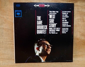 "Dave Brubeck Quartet - ""West Side Story"" - 1971 Vintage Vinyl Record Album"