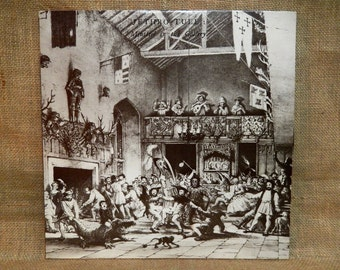 Jethro Tull - Minstrel in the Gallery - 1975 Vintage Vinyl Record Album
