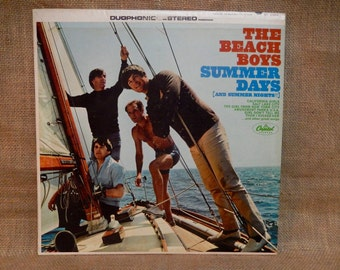 The Beach Boys - Summer Days (and Summer Nights) - 1965 Vintage Vinyl Gatefold Record Album