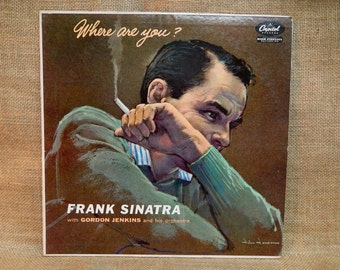 Frank Sinatra - Where are You? - 1957 Vintage Vinyl Record Album