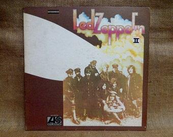 LED ZEPPELIN - Led Zeppelin II - 1974 Vintage Vinyl Gatefold Record Album