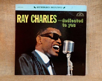 Ray Charles - Dedicated to You - 1967 Vintage Vinyl Record Album