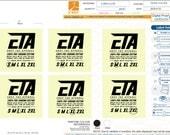 custom damaks woven label,  5.0915.1139v2