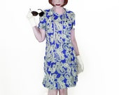 60s Mod Dress for Spring - Vintage 1960s Paisley Casual A Line