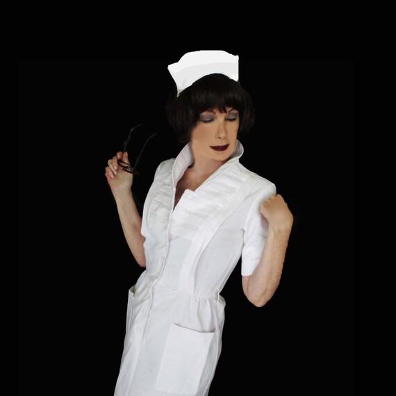 Vintage Nurse Uniform 1960s Vintage Waitress Vintage Maid
