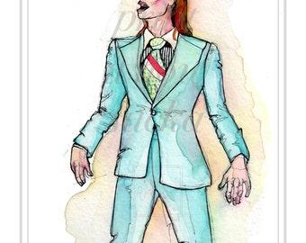 David Bowie- Life on Mars Portrait