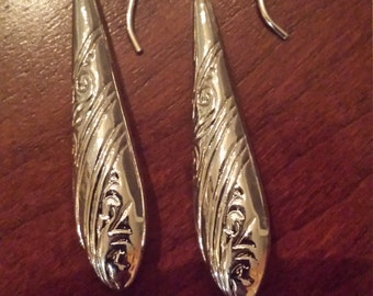 Sterling Silver Drop Earrings...FREE SHIPPING