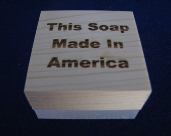 This Soap Made In America Stamp