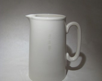 White Milk Pitcher - Lord Nelson Potteries