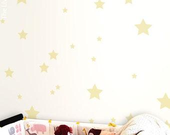 Mix Stars Wall Sticker Decal Home, Stars Wall Decal Christmas Wall Art Kids Room