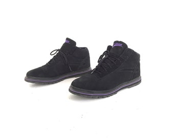 Women's Size 10 90s HIGH top LA GEAR rare style ankle booties tennis shoes