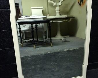 Large Veranda Ivory Mirror