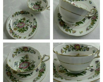 ON SALE- Aynsley cup & saucer circa 1930's-  209