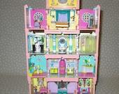 Vintage 1990s Bluebird Polly Pocket Playset Dream Builders Dream House