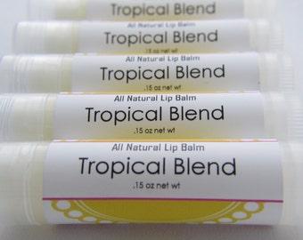 All Natural Lip Balm - Tropical Blend