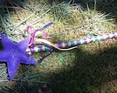 READY TO SHIP Magic Star Fairy Princess Wand Custom Order