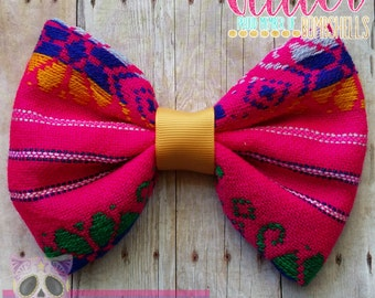 Mexican  - Folklorico - Hispanic - Book of Life - Day of the dead - Costume - HairBow - Frida - Boho - Bohemian - Party - Jalisco - Feista