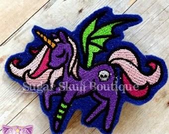 Dark Unicorn clip
