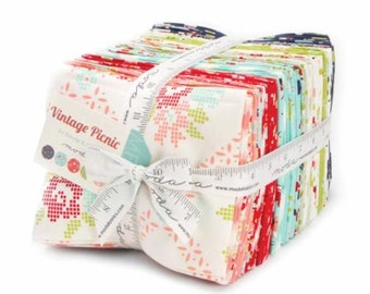 Vintage Picnic Fat Quarter Bundle by Bonnie & Camille for Moda