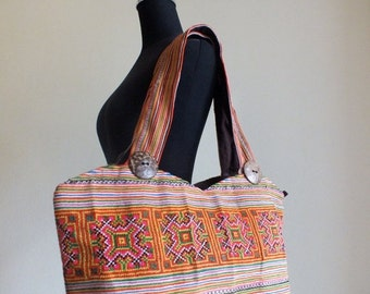 ON SALE, SALE,End of Line,,,,Bohemian Hmong Ethnic Handbags vintage fabric-tribal Handbags and purses from -Thailand