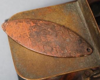 Vintage brass spoon bait, plate, pendant, lure MAL-5 Salmo