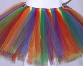 Over the Rainbow Tutu Adult Teen Child Skirt