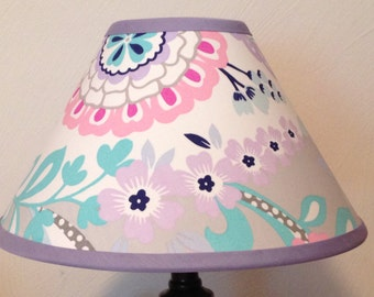 Harper Floral Fabric Lamp Shade M2M Pottery Barn Kids Bedding